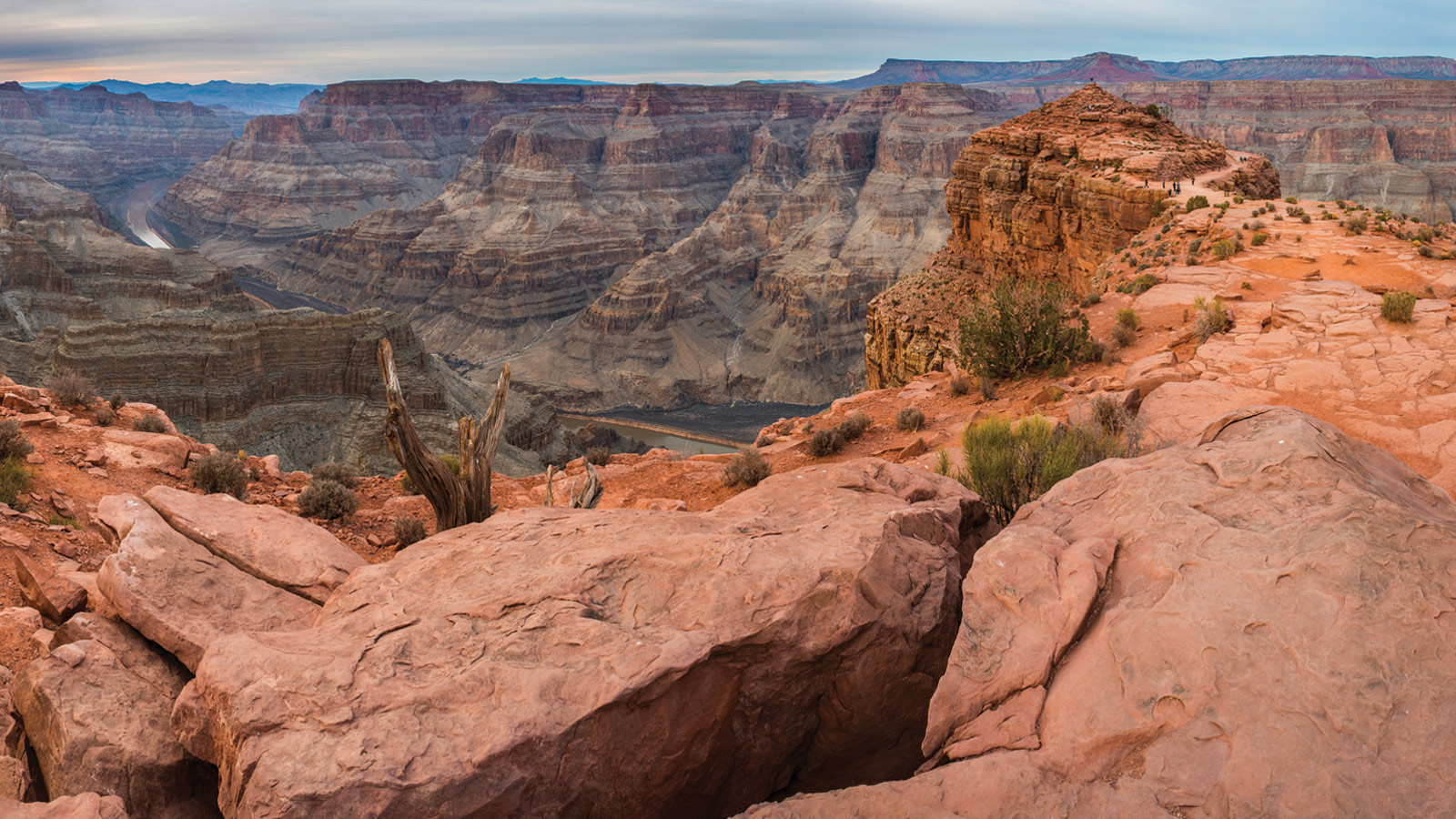 Grand Canyon West Rim Hualapai Adventure by Ground and Helicopter Tour – $399