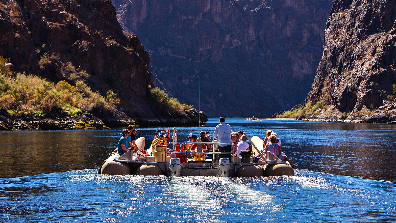 Grand Canyon Helicopter Flight and Black Canyon River Rafting Adventure Day Tour – $499