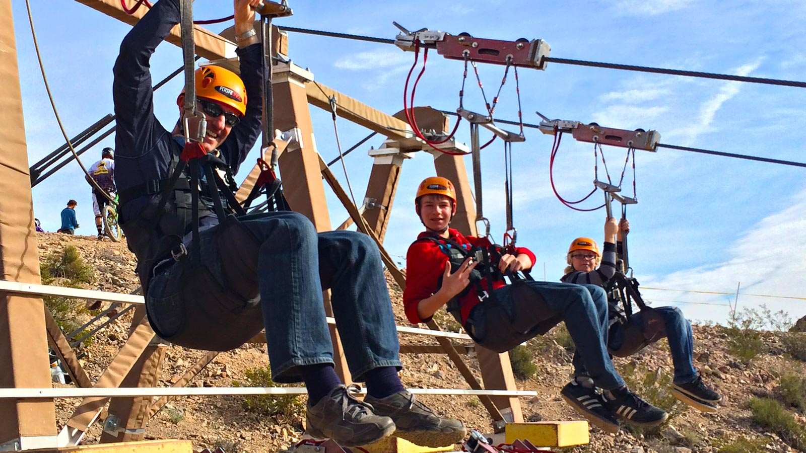 Grand Canyon Helicopter and Bootleg Canyon 8,000 foot Ziplining Adventure – $549