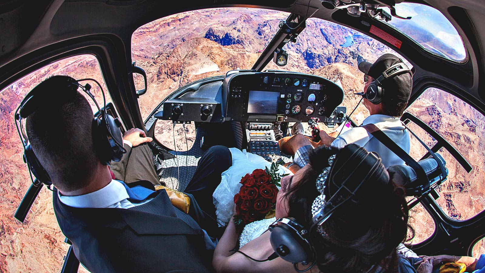 Grand Canyon Helicopter Wedding Package 3495