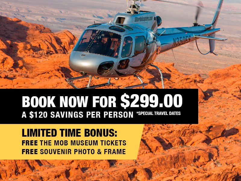 Grand Canyon Discovery Extended Helicopter Air Tour Retail Package Value $419.00