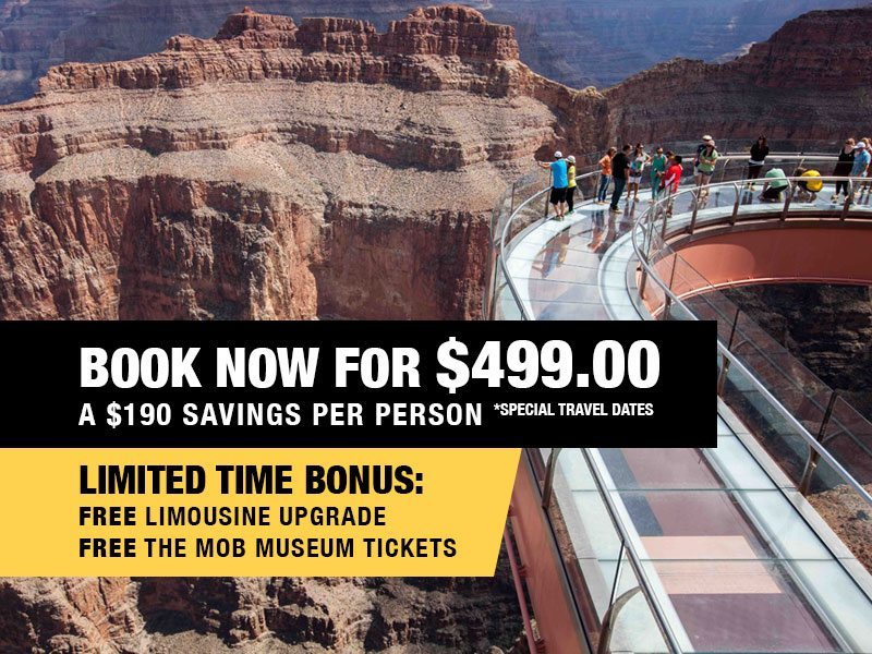 VIP Skywalk Express with Free Limousine & Champagne Retail Package Value $689.00