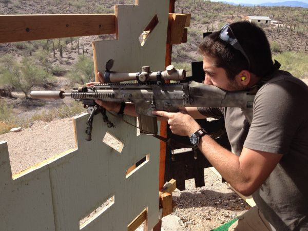 Las Vegas Outdoor Shooting Range Experience and Grand Canyon Flight – $699