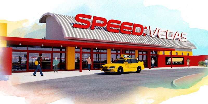 SpeedVegas Track RideAlong Driving Experience And Grand