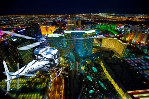 Las Vegas VIP Strip Helicopter Flight and Night with the Jabbawockeez – $199