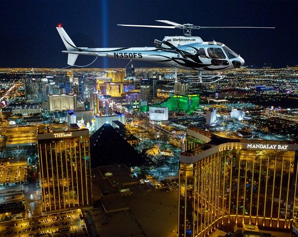 Las Vegas Night Strip Helicopter & Nightclub Crawl