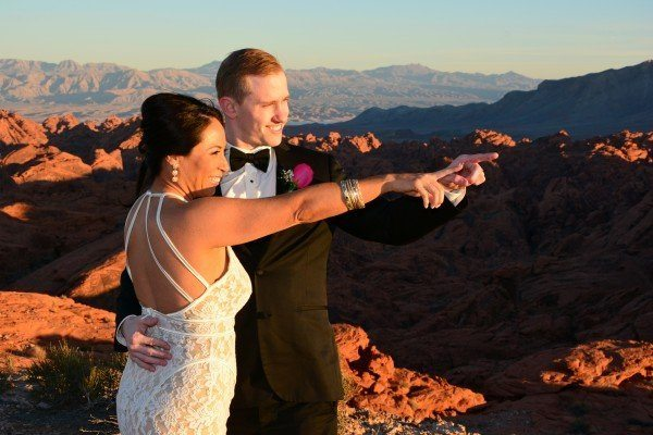 Grand Canyon Helicopter & Valley of Fire Wedding Ceremony Package – $3495