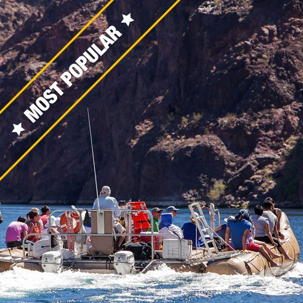 BLACK CANYON RIVER RAFTING TOUR WITH GRAND CANYON HELICOPTER FLIGHT