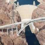 grand canyon floor landing helicopter tour aerial views of hoover dam bypass bridge