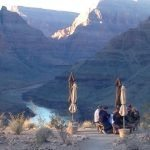 grand canyon helicopter landing tour with picnic