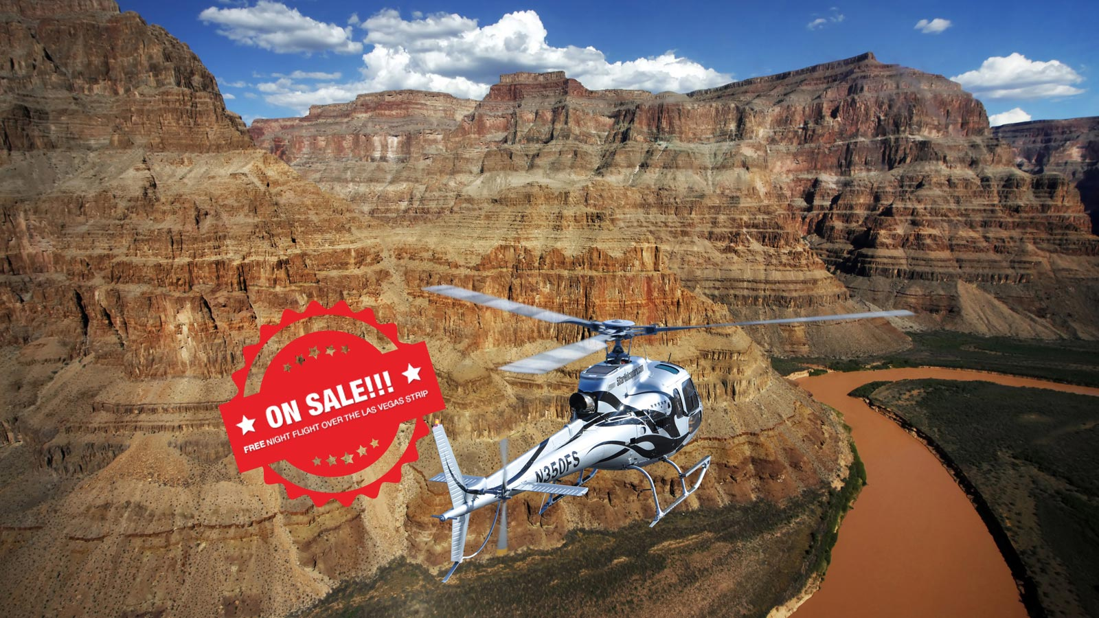 Grand Canyon Helicopter Air Tour Including Gift Shop Landing